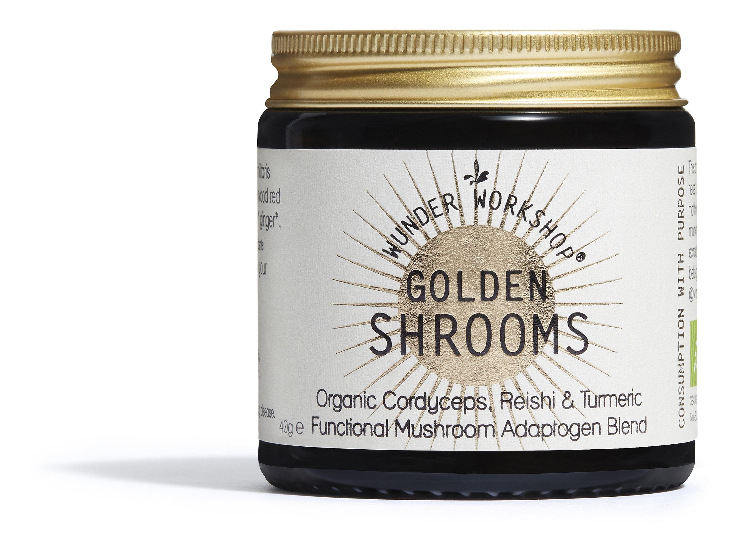 Golden shrooms cordyceps
