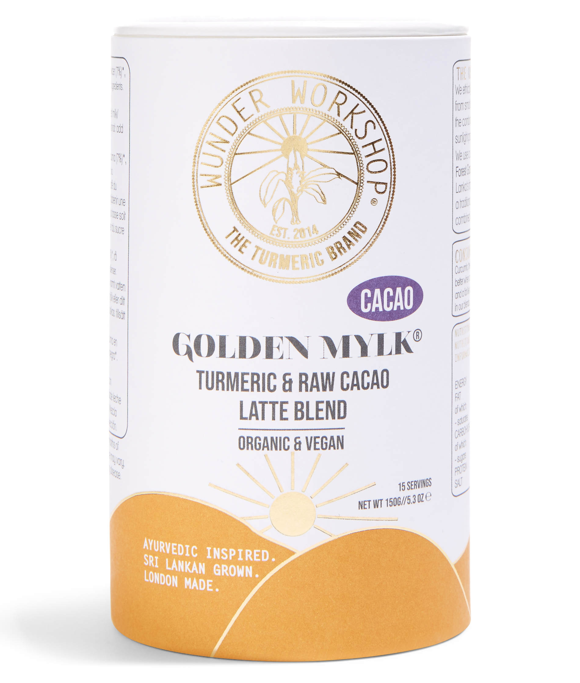 Instantly Golden Cacao turmeric latte