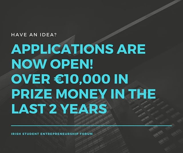Startup Applications have now opened!  Apply through our website to enter. Turn your idea into a reality!
