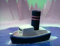 Broken Toy Boat