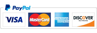 We accept Paypal and most cards.