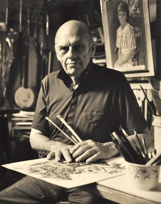 John C. Menihan at 80 (1988) Photo by John C. Menihan, jr