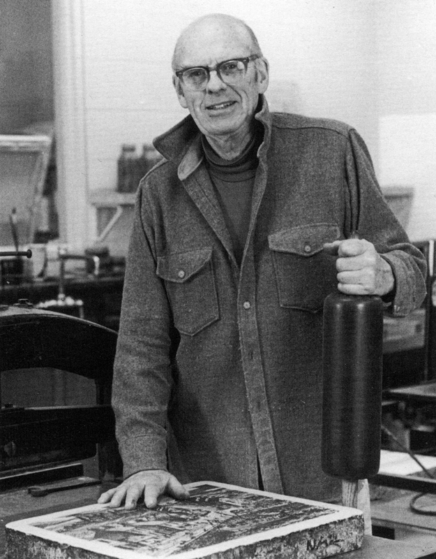 John C. Menihan at 73 (1981) Photo: Barbara Puorro Galasso