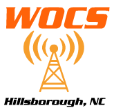 Click the logo tovisit the WOCS radio page.