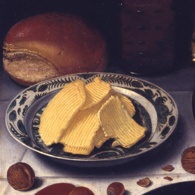 Floris van Schooten, Breakfast,  Collection Kröller-Müller Museum, the Netherlands