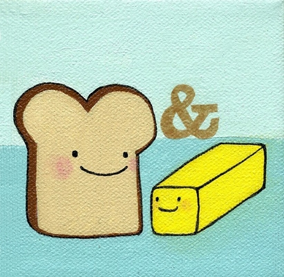 Bishop Art bread and butter
