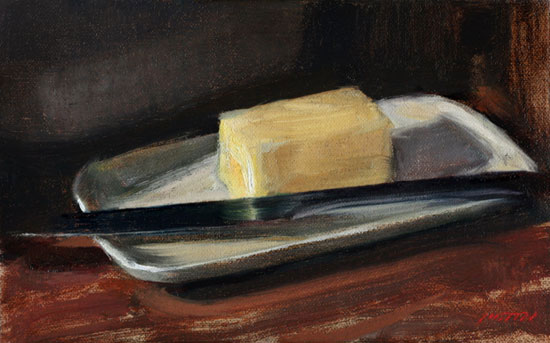 Justin Clayton butter