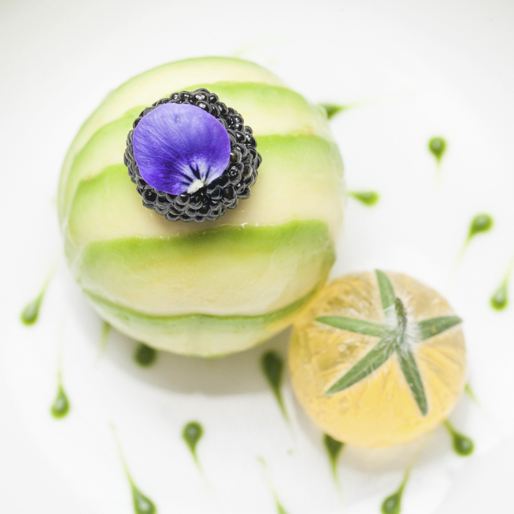 Tuna, avocado, caviar