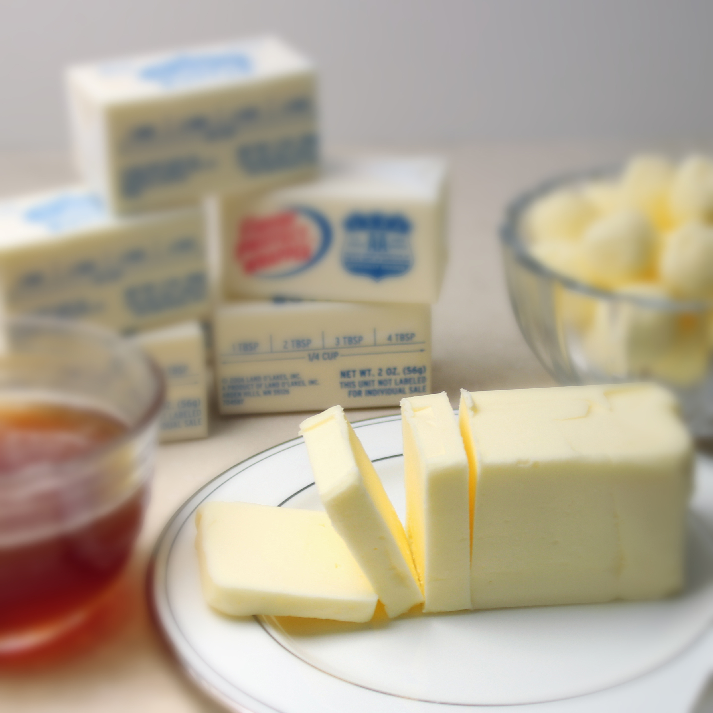 TYPES OF BUTTER