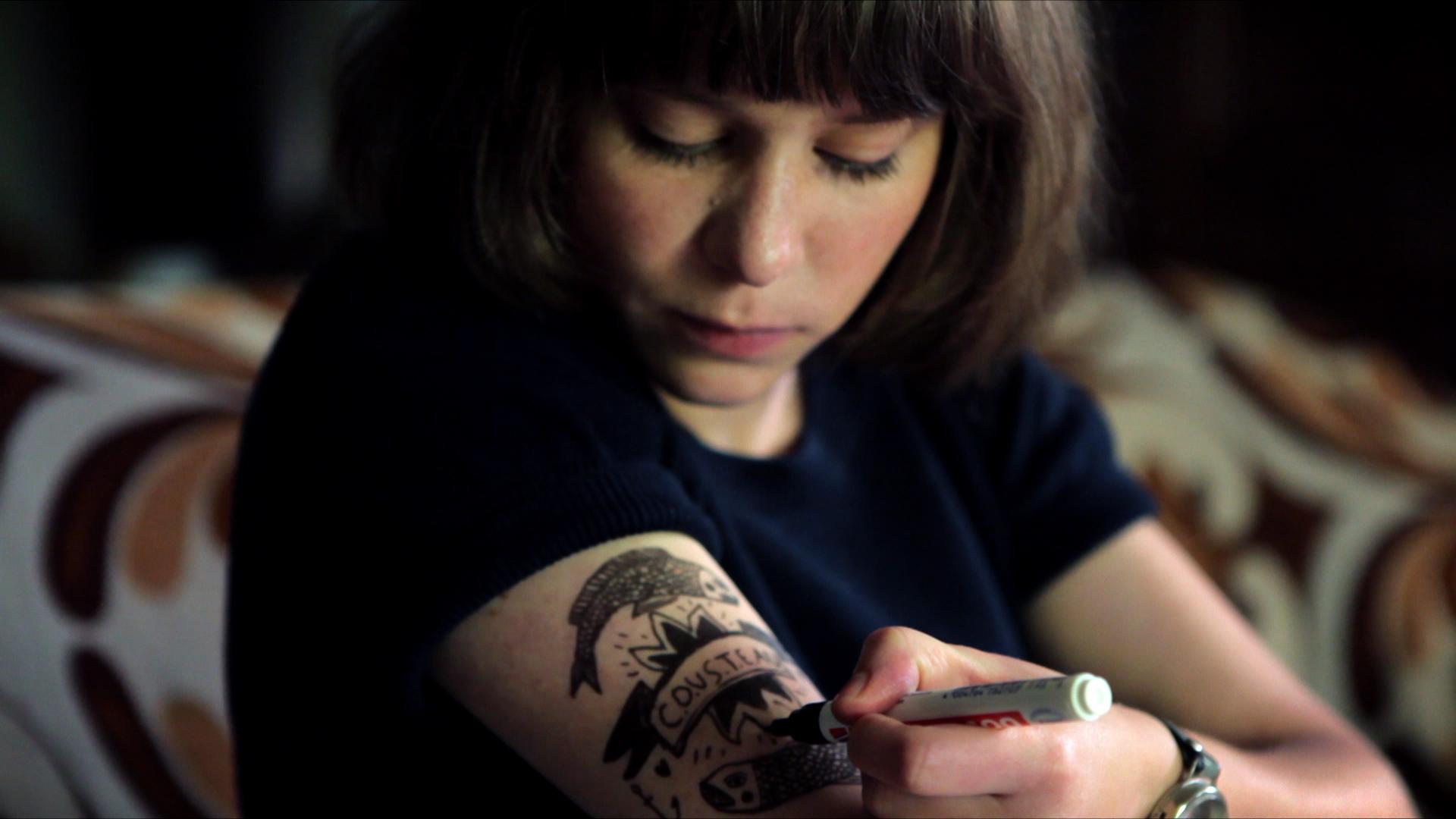 ginette tatouage