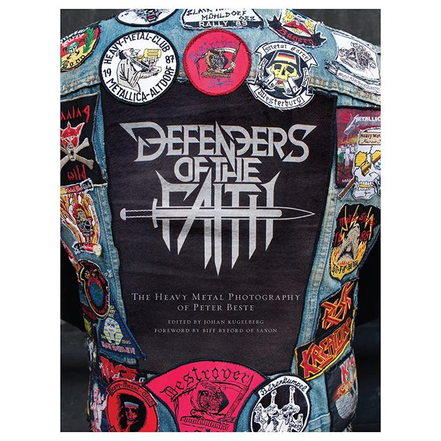"Defenders of the Faith  288 page hardcover photography book Intro by Biff Byford of Saxon Edited by Johan Kugelberg Out in September on Sacred Bones • ""The realism of ""Defenders of the Faith"" made the hair on the back of my rippling neck stand on end - a feeling I haven't had since I played the Marquee in London, England in 1984! Immersing myself in ""Defenders of the Faith"" put me right back in the 1980's when Metal ruled the world!  Peter Beste's enthralling book is a must for all fans of Metal throughout the world as he captures the new wave of worldwide Metal, right here, right now in 2019! The book's rich imagery is powerful and fascinating, and Peter Beste proves he is a pioneer, stalwart and historian of the modern age.  Hail to Peter Beste! I raise my hammer to salute you for this unique visual treasure!"" -Jon Mikl Thor, lead vocalist for the band THOR •"