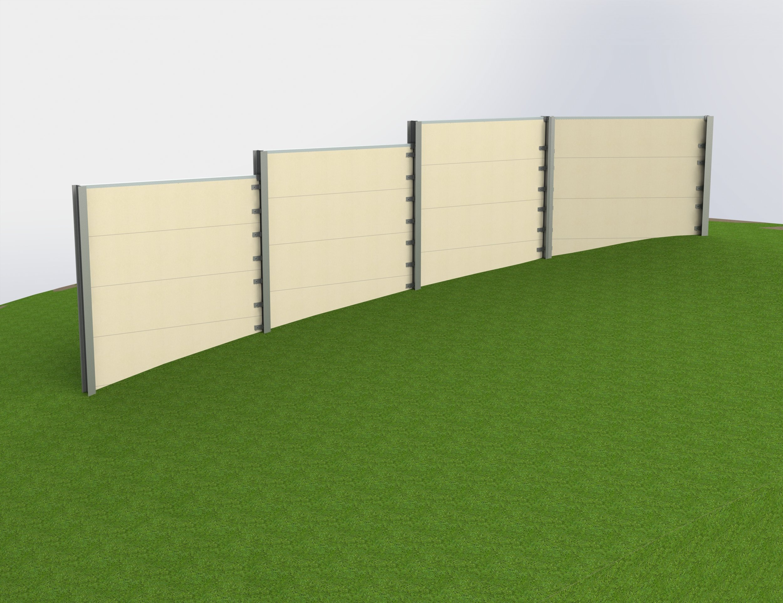 Noise Barriers at Highway