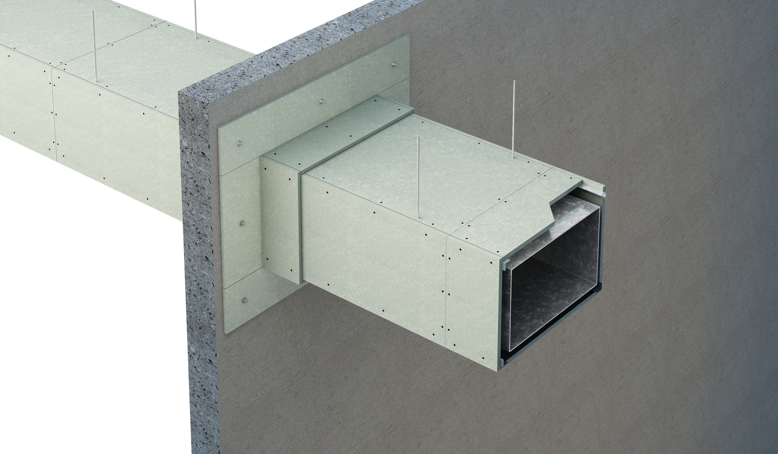 Ventilation & Smoke ducts (protection to steel duct DW144)