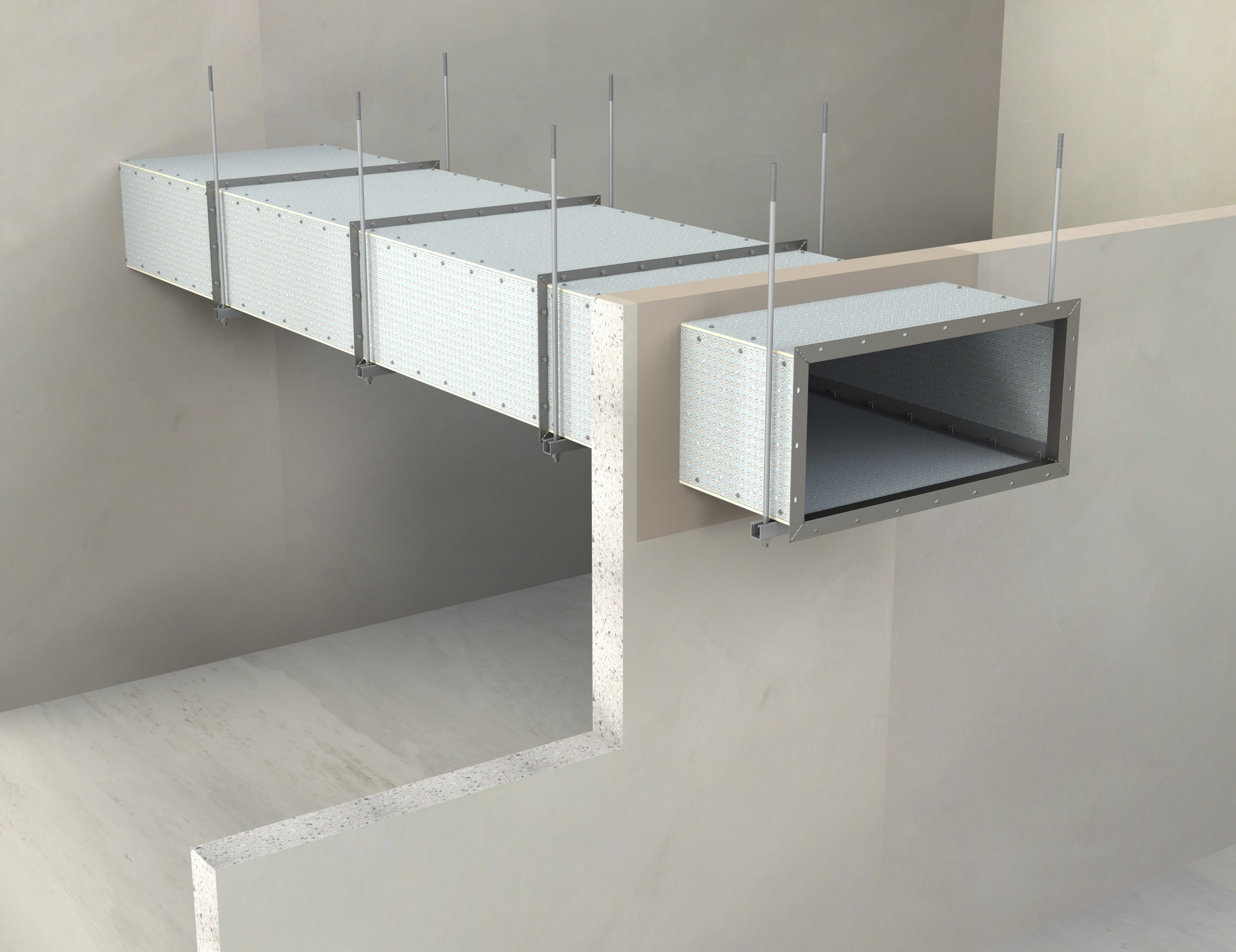 Ventilation & Smoke Ducts (High Impact Resistance)