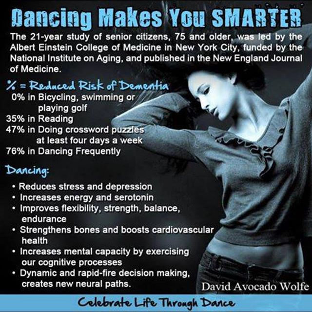 Dancing makes you smarter!!!