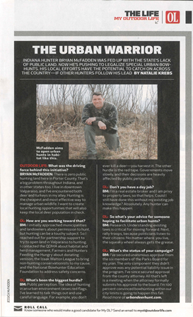 Outdoor Life Article