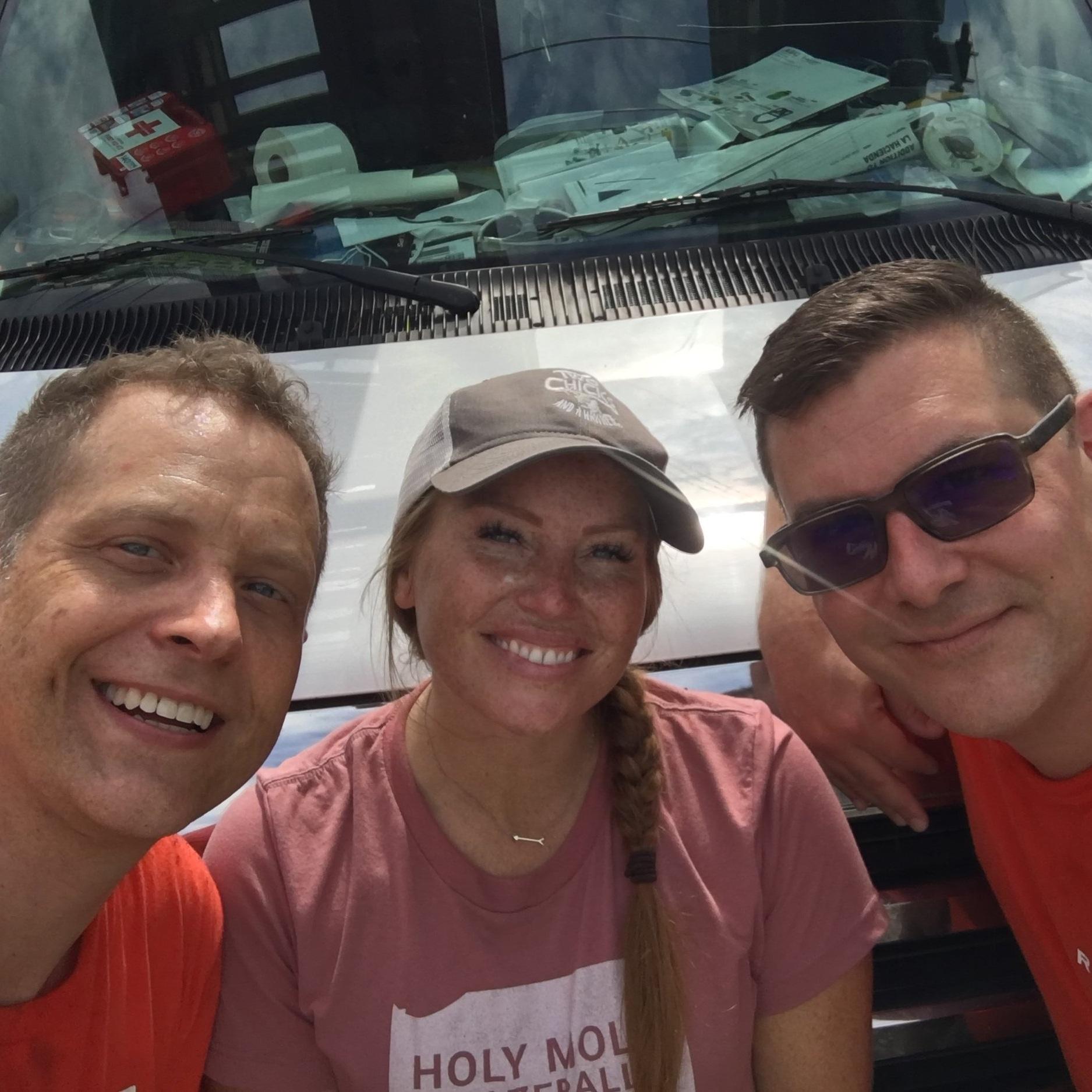 Todd, Mina, and Rod