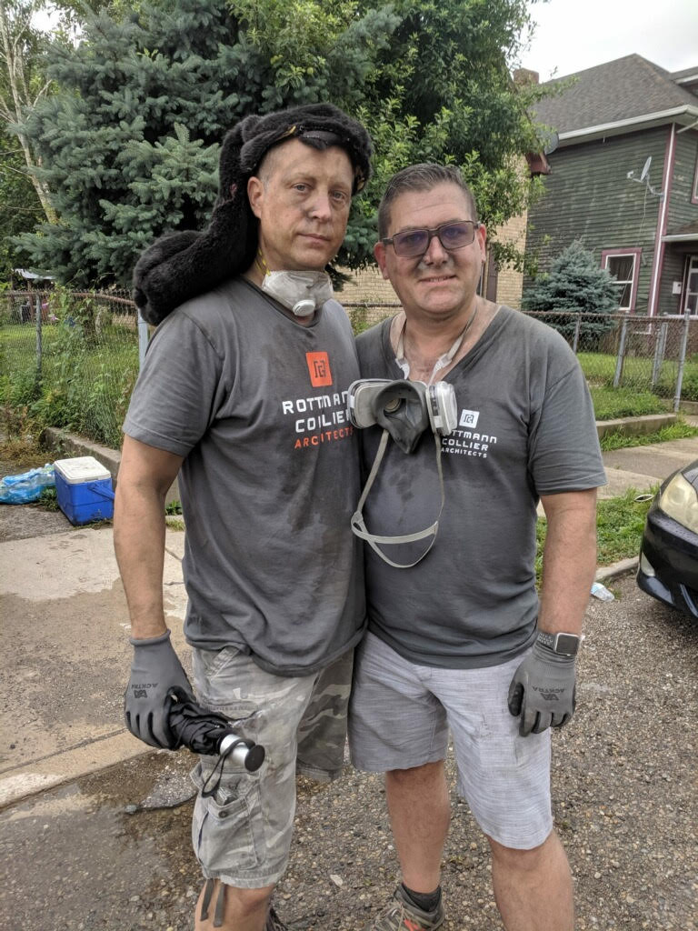 It's a dirty job, but we have so much fun.