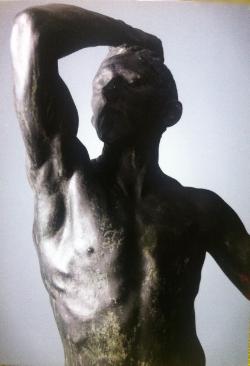 (Auguste Rodin: Pronssiaika, kuva: Linn Ahlgren/Nationalmuseum, Tukholma)