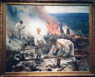 Eero Järnefelt, Raatajat rahanalaiset / Kaski, 1893