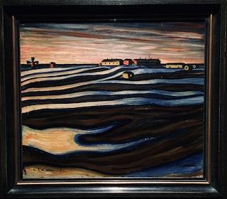 Vilho Lampi, Nocturne, 1930