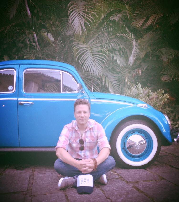 Jamie Oliver & The Fat Radish cap.