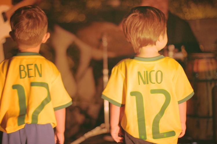 Future footballers.