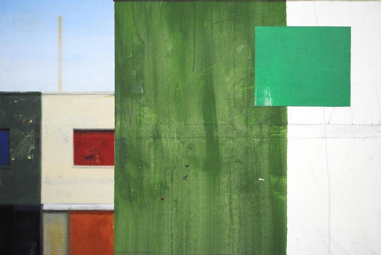 Premises, Acrylic on Linen, 2015. (detail)