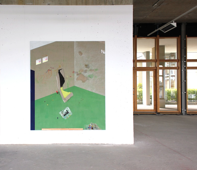 Ramon Kassam | Works.  Green on Red Gallery, Dublin. 2016