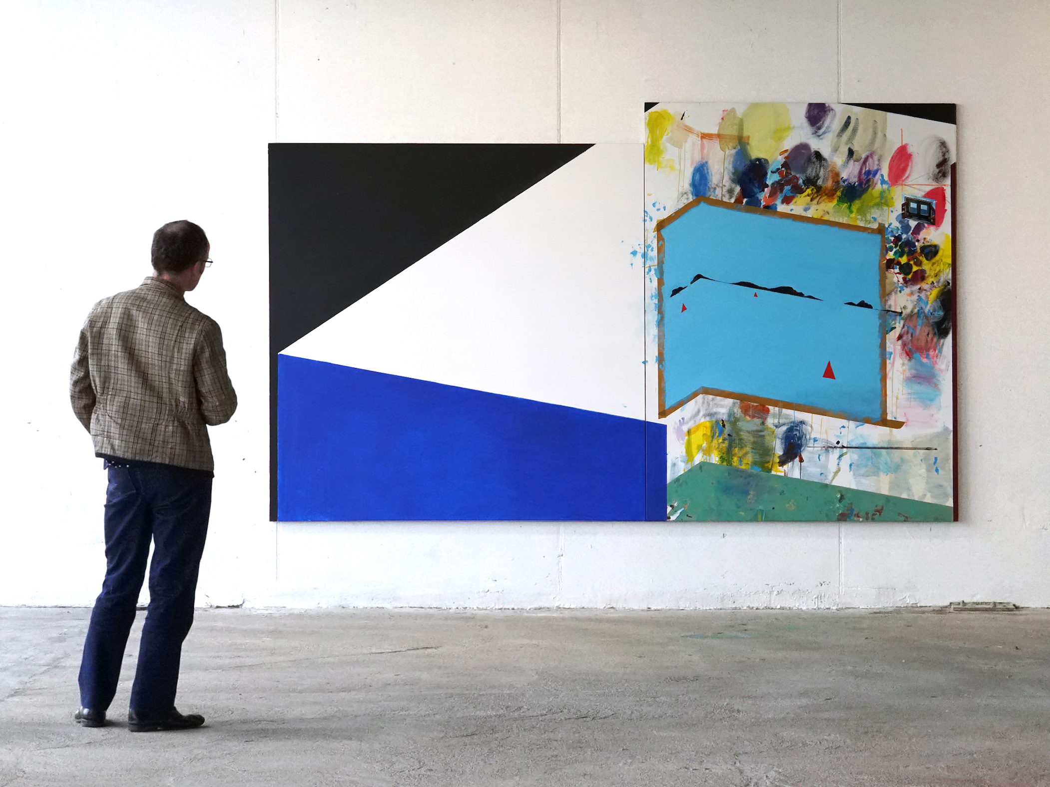 Ramon Kassam | Study for a Studio by the Sea. Install