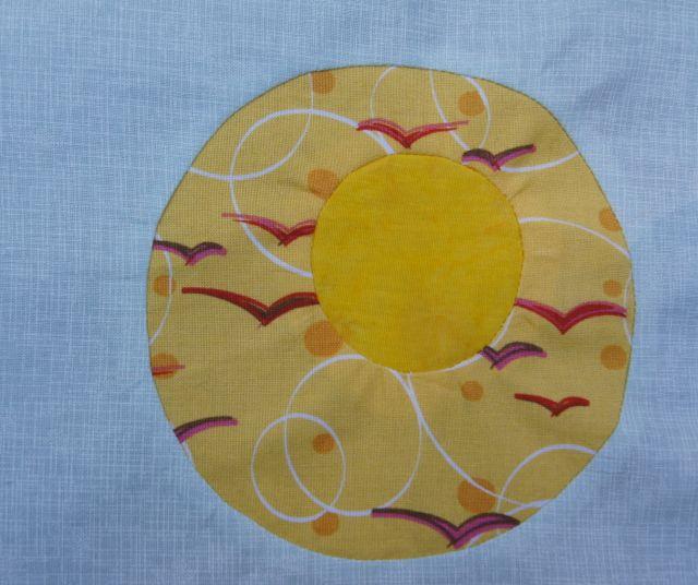 Double Reverse Circle Sun