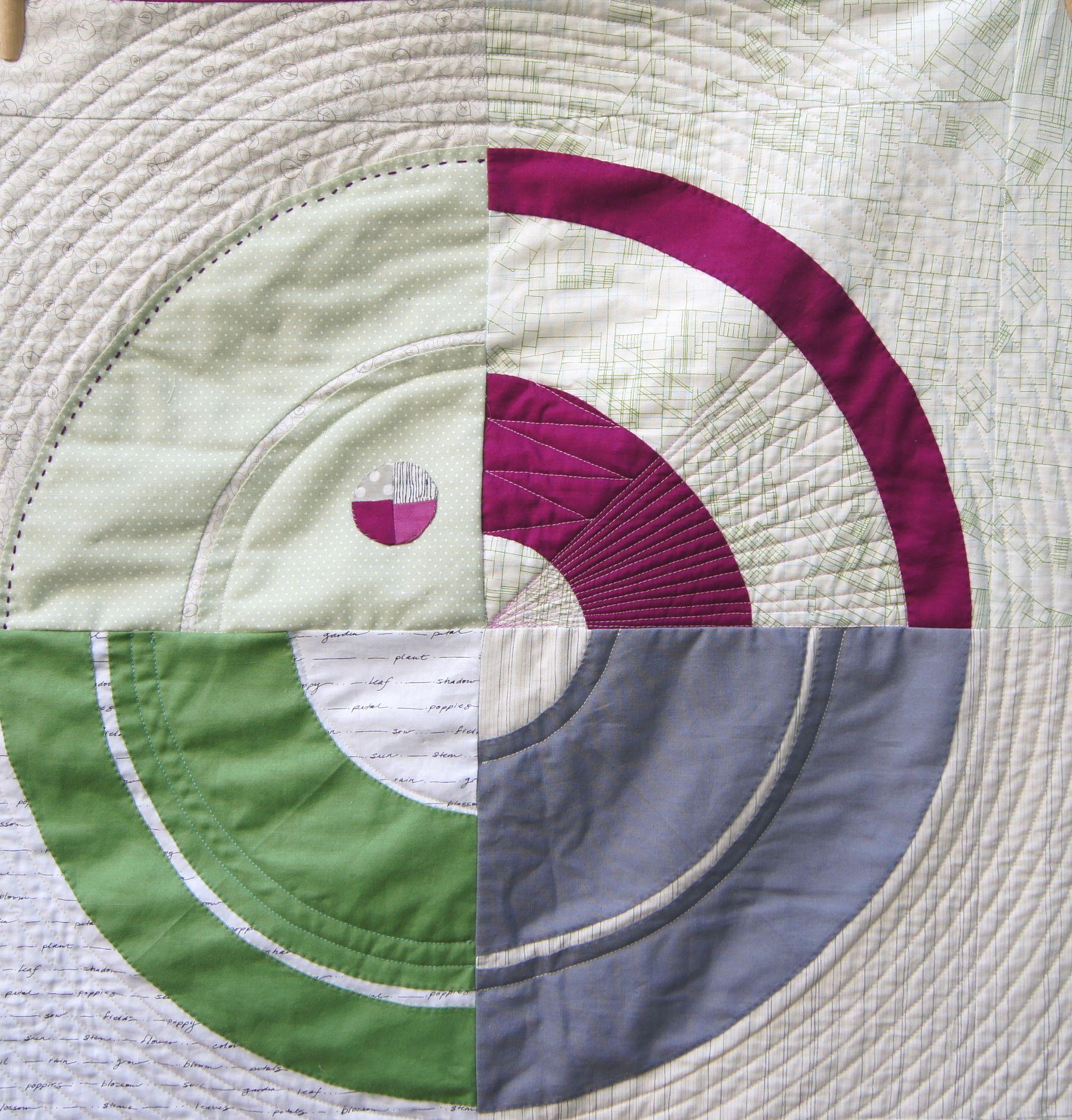 Detail, Bulls-Eye Pattern by Carolyn Friedlander