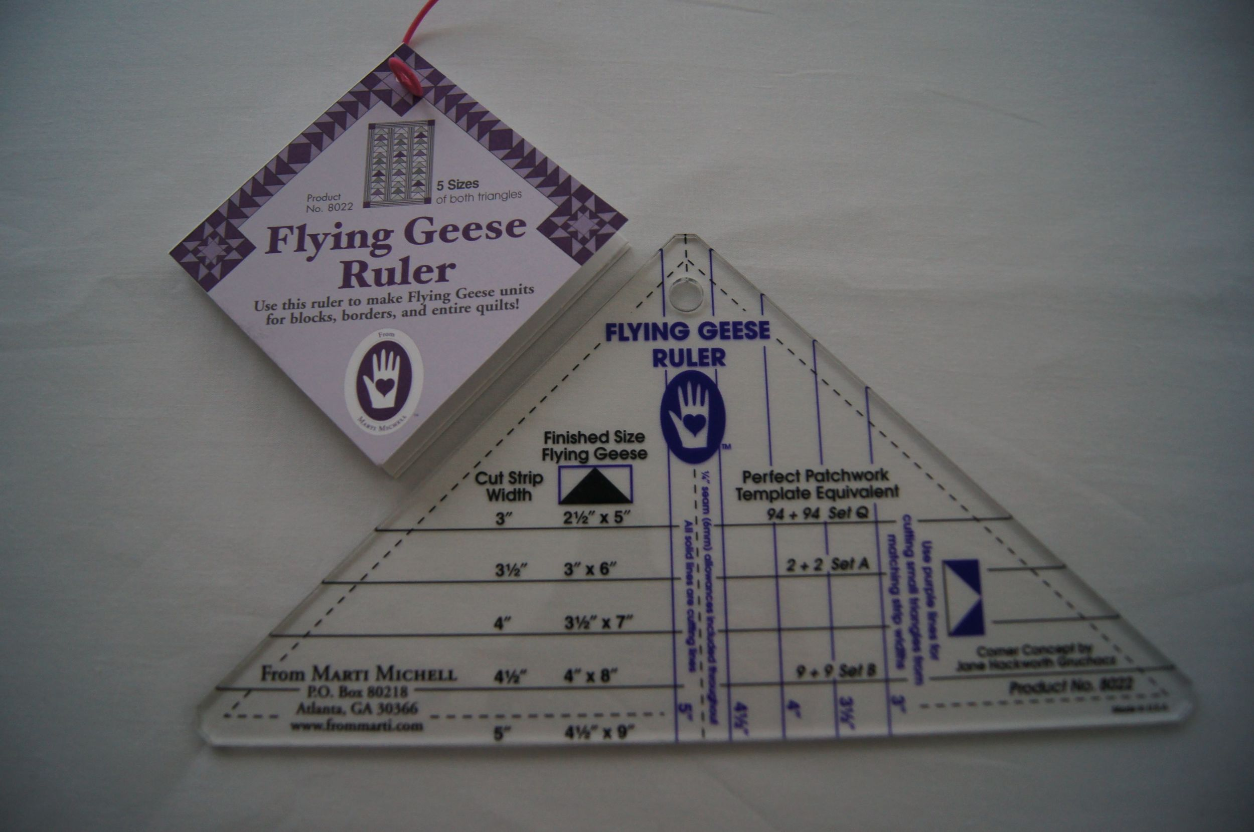 Marti Michell's Flying Geese Ruler