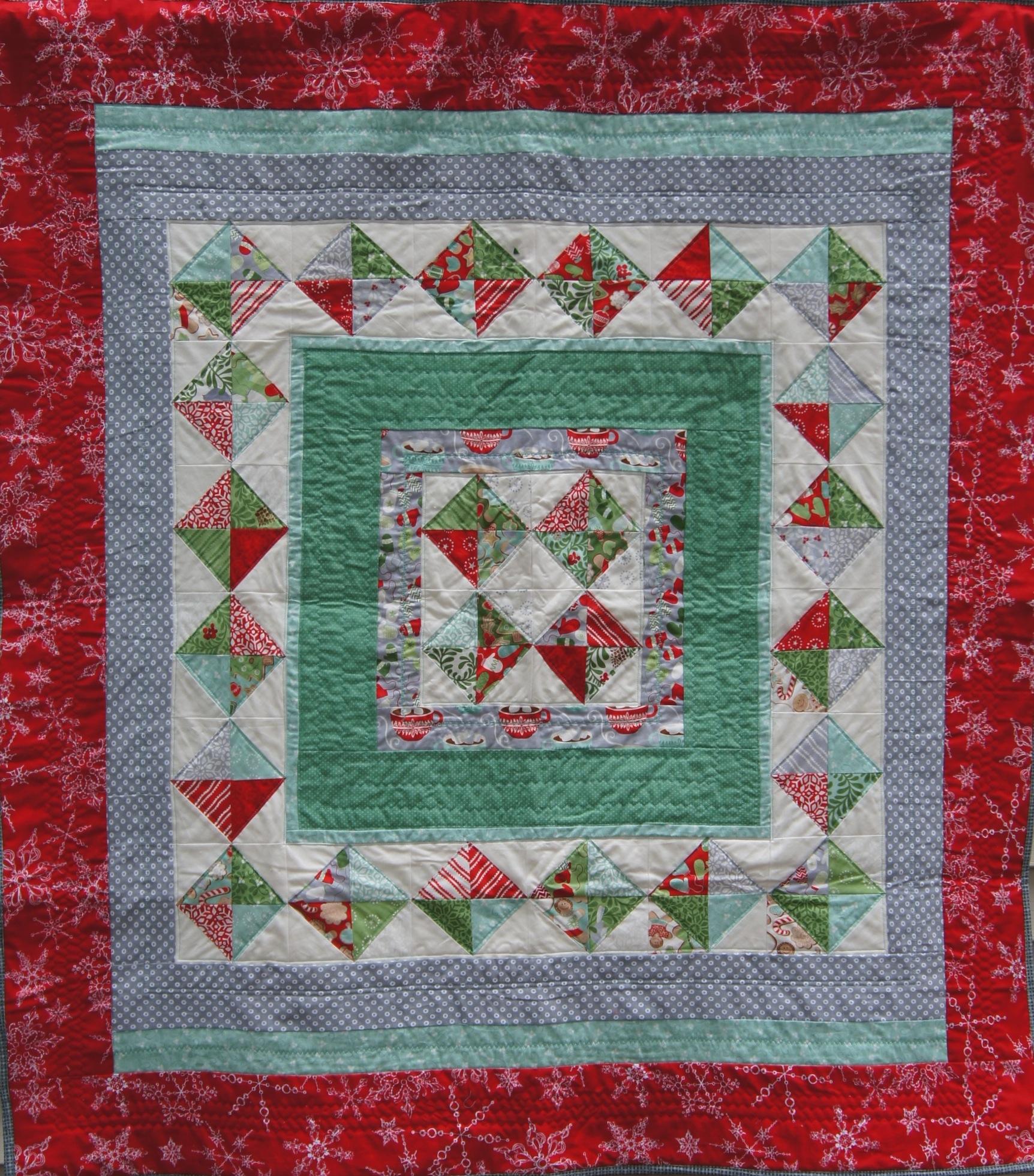 Christmas Medallion Quilt
