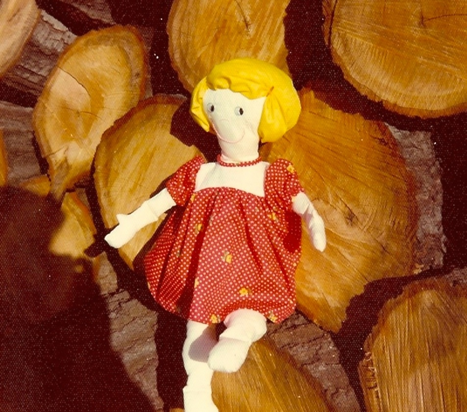 "Toddler Doll ""Amy"""