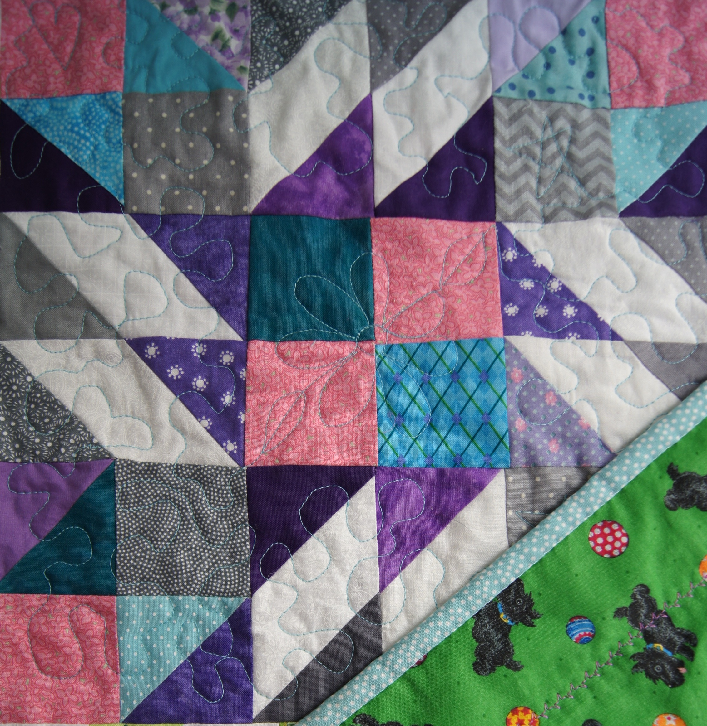 "Bonnie Hunter ""Grand Illusion"" Winter 2014 Mystery Quilt"