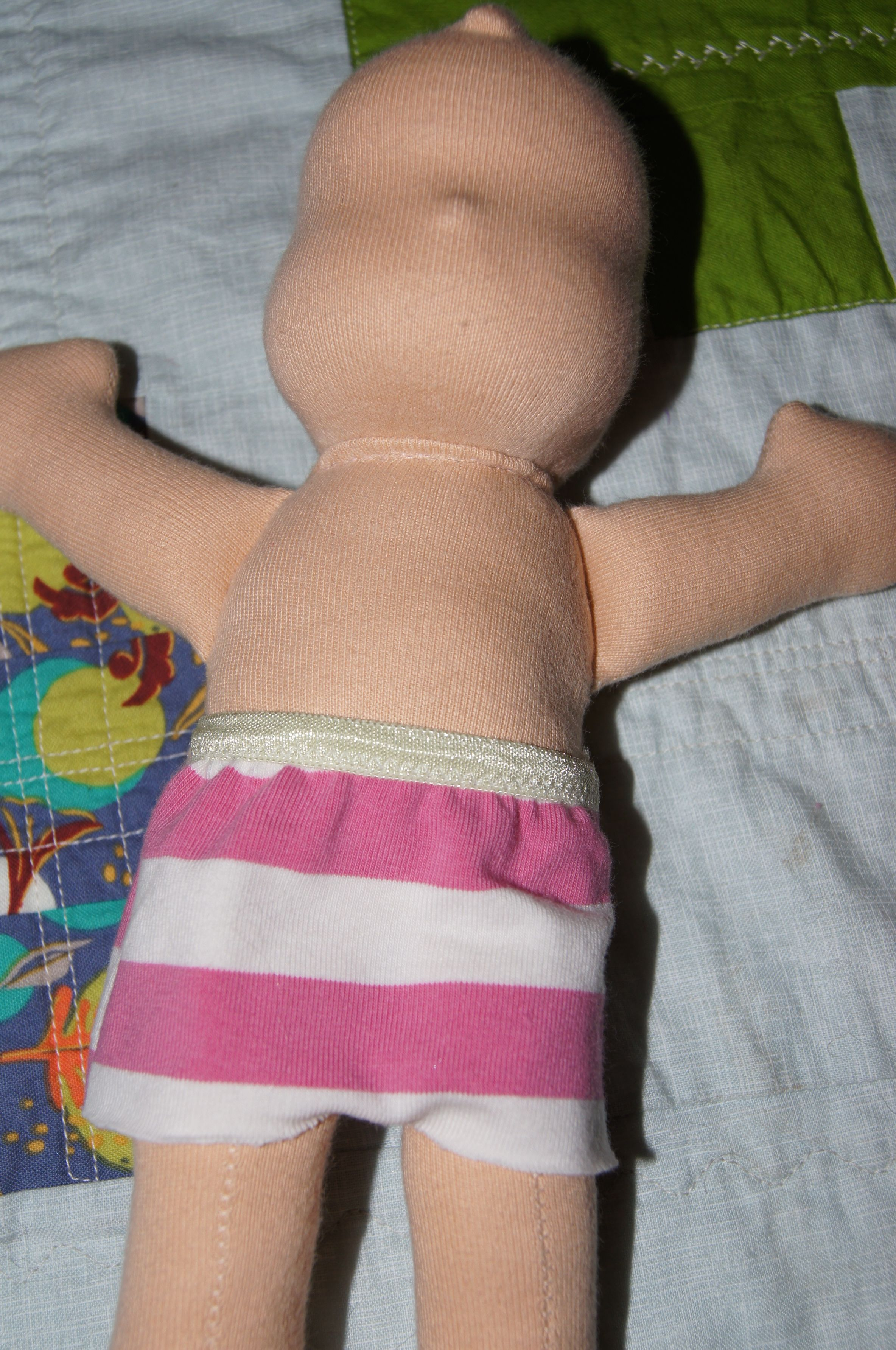 PIccolina Girl Kit, body assembled.