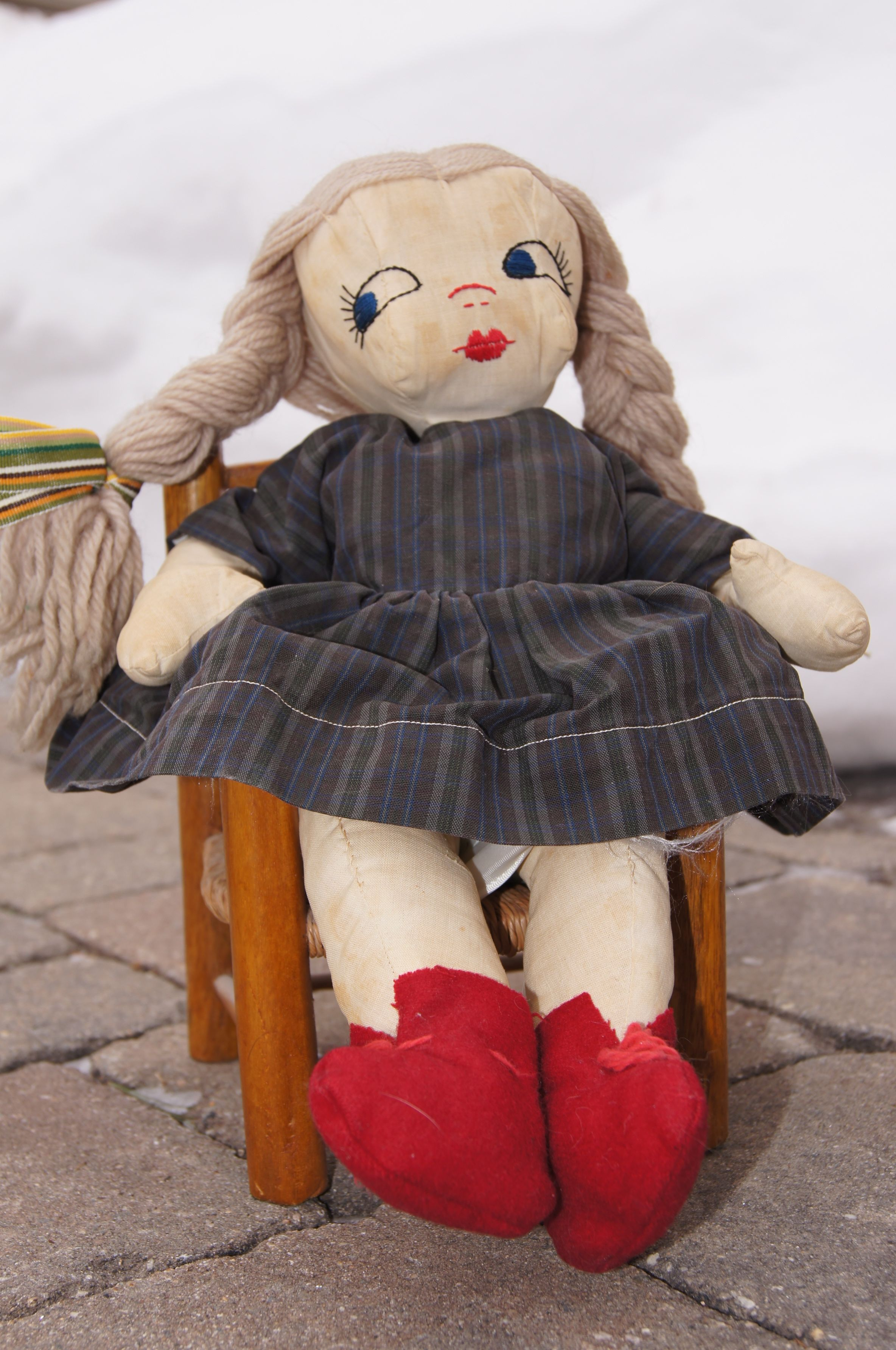 Doll purchased for me on the Blue Ridge Parkway in the 1960s