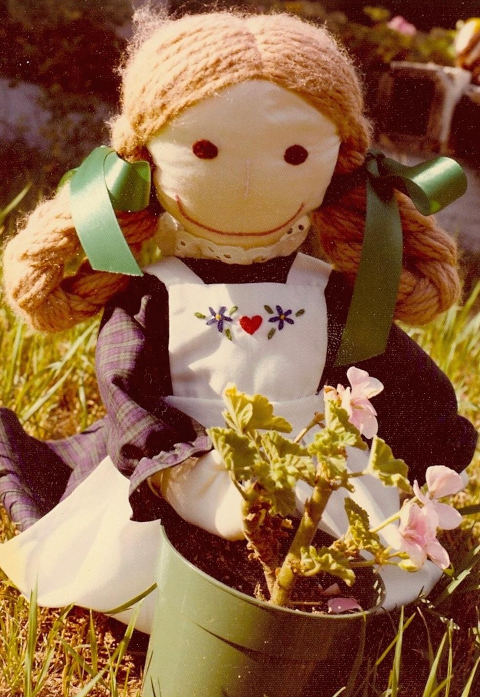Dolls I designed for Play : Annenina--1970s