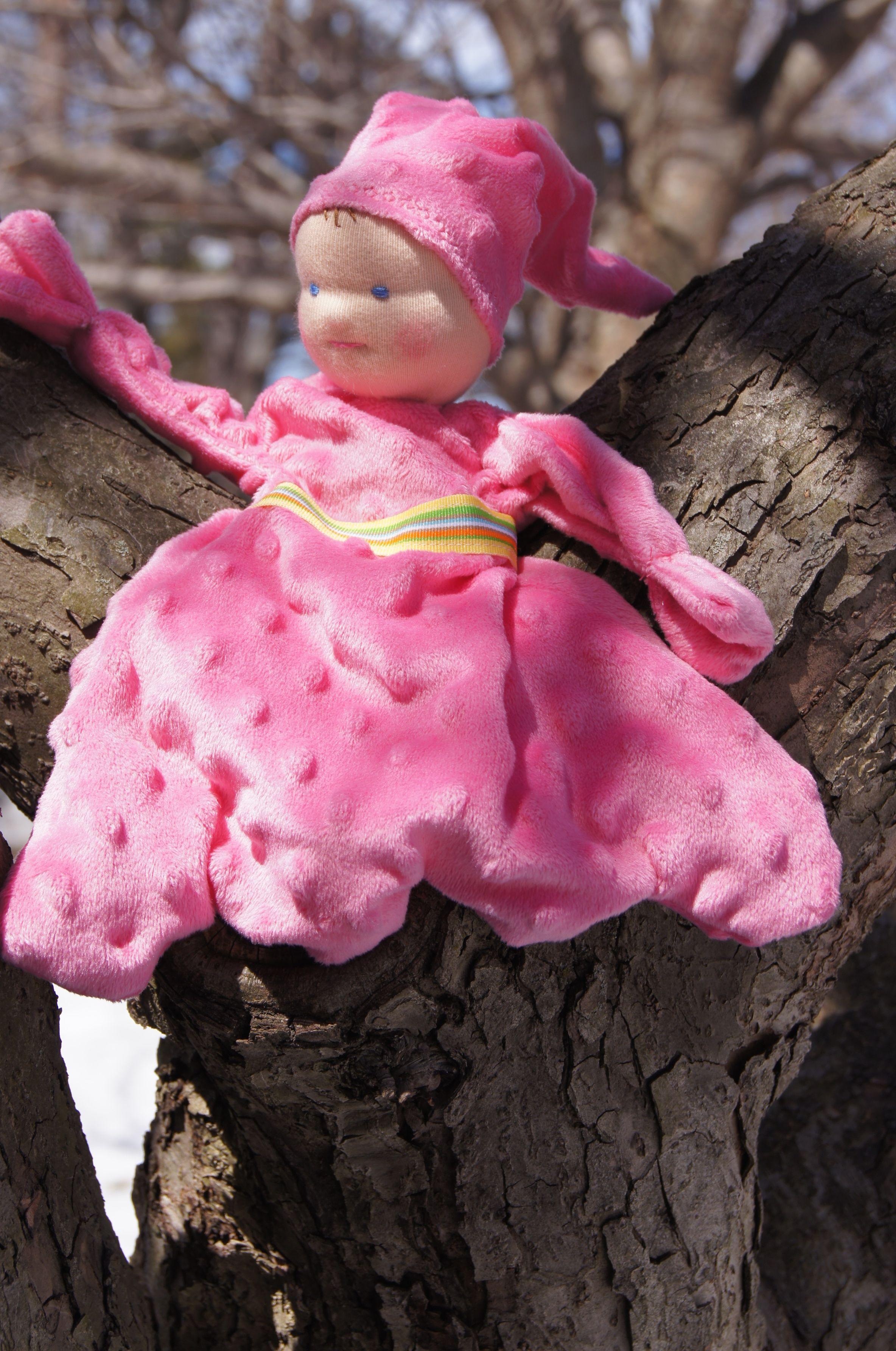 Waldorf Type Doll for Little Folk:  Petal Fairy Doll ,  Making a Petal Doll