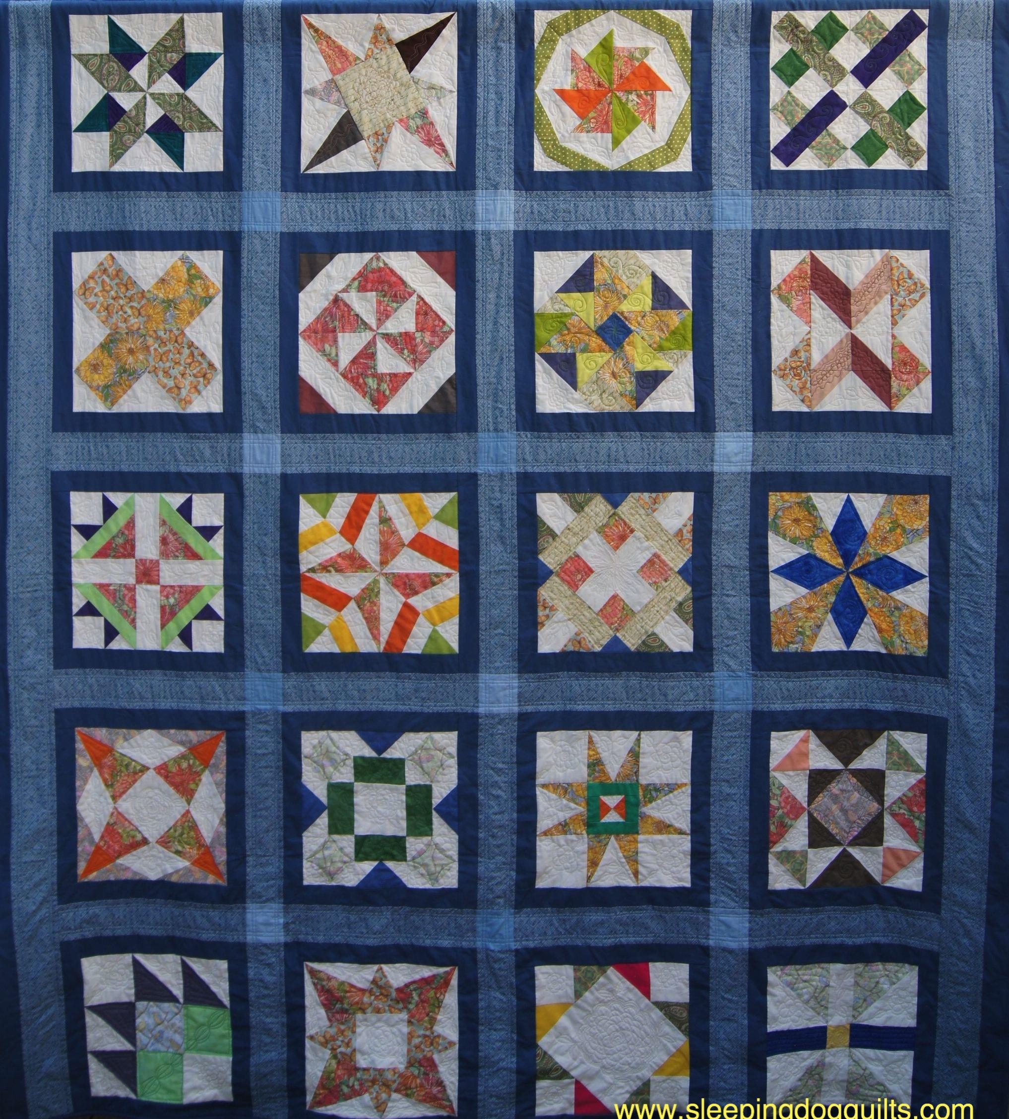 Vintage Quilt Revival Sampler Quilt