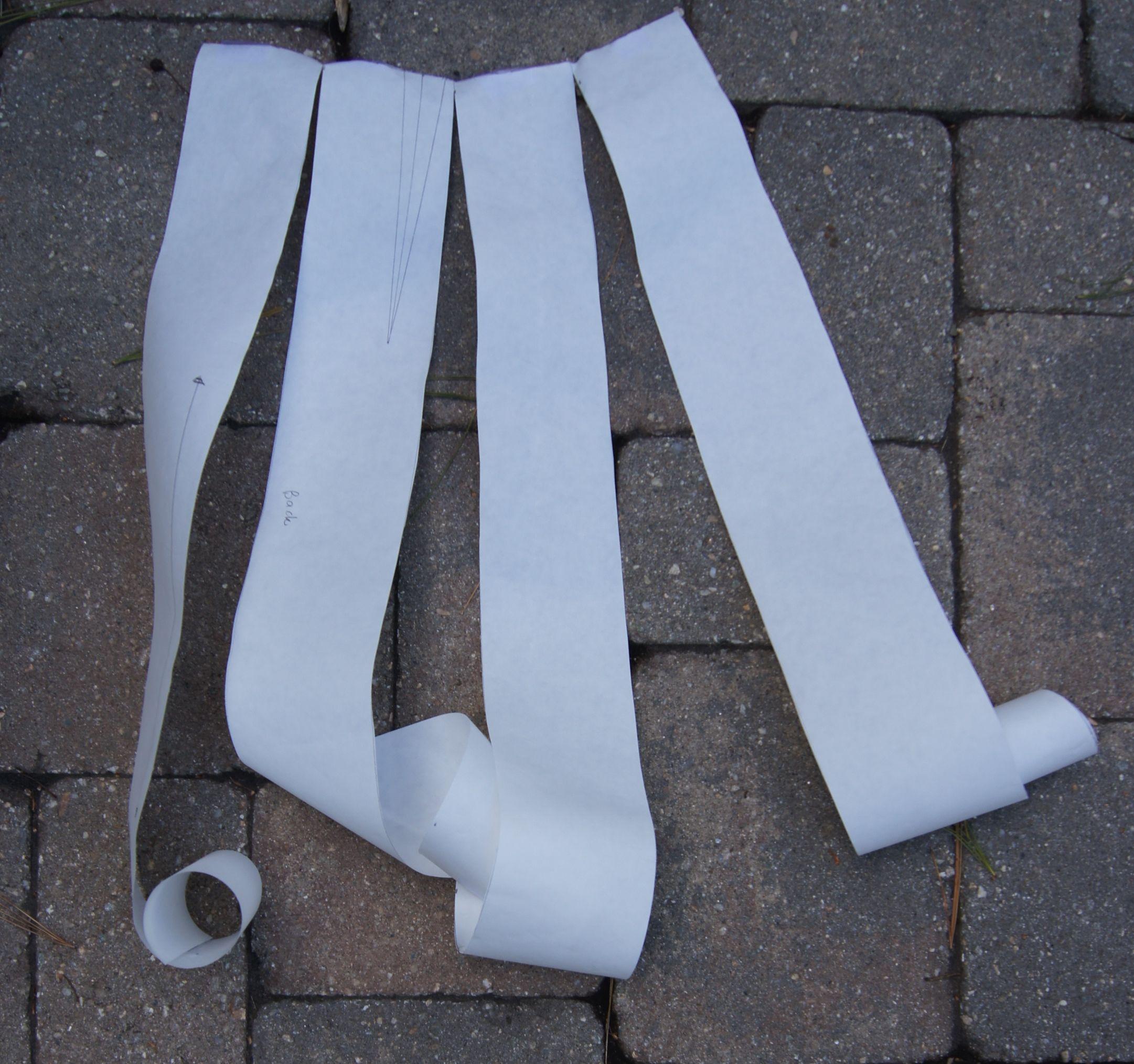 Pattern Drafting Freezer paper Curlie Cues.jpg