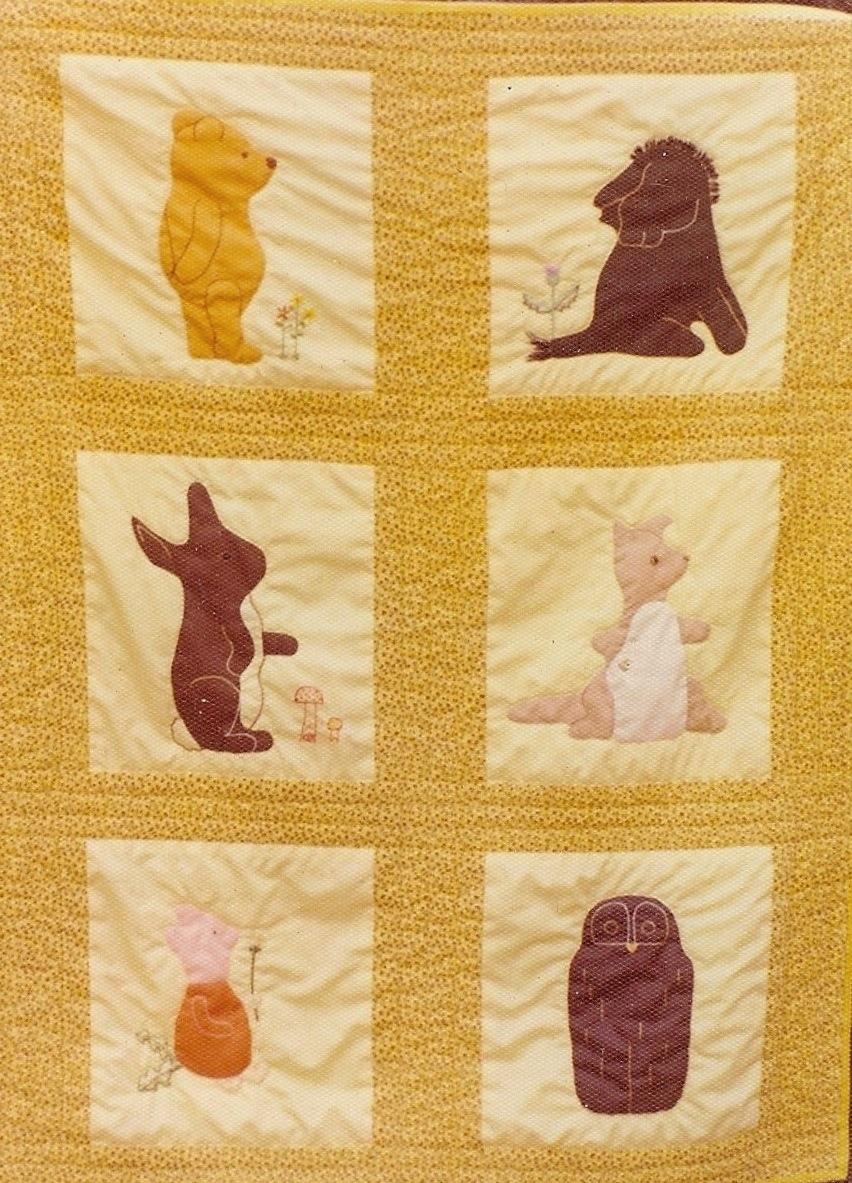 Pooh Quilt 1974