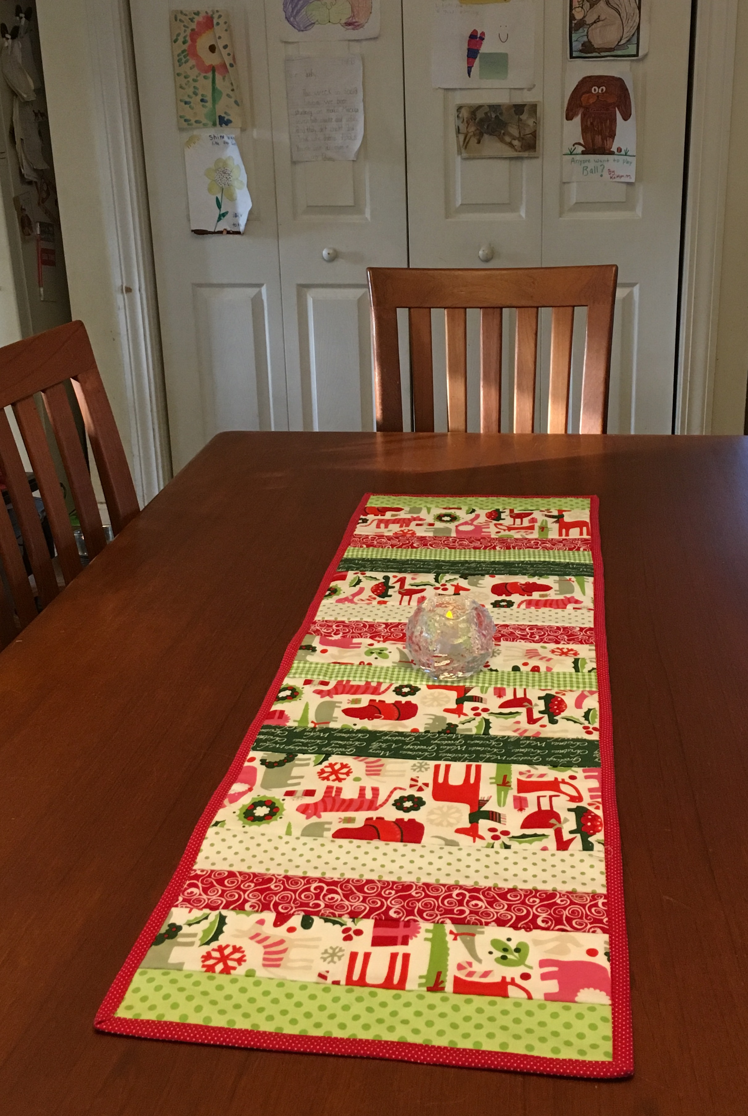Table Runner 13 x42 inches