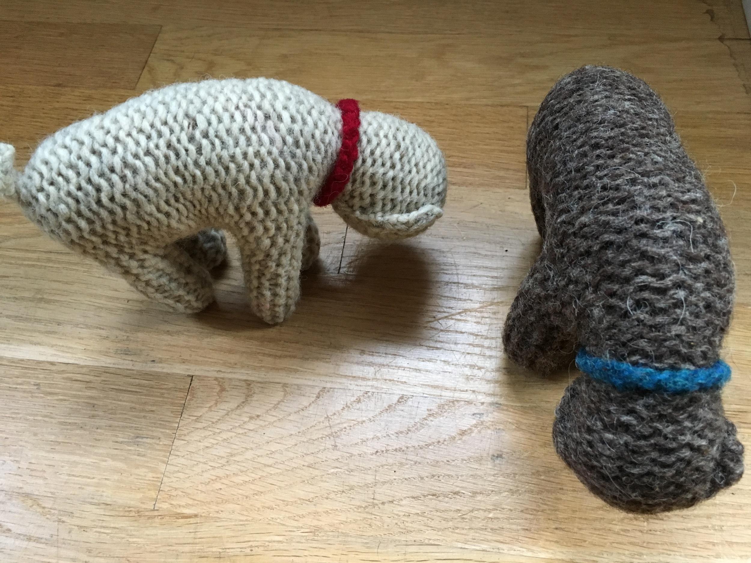 Christmas knitted sheep.jpg