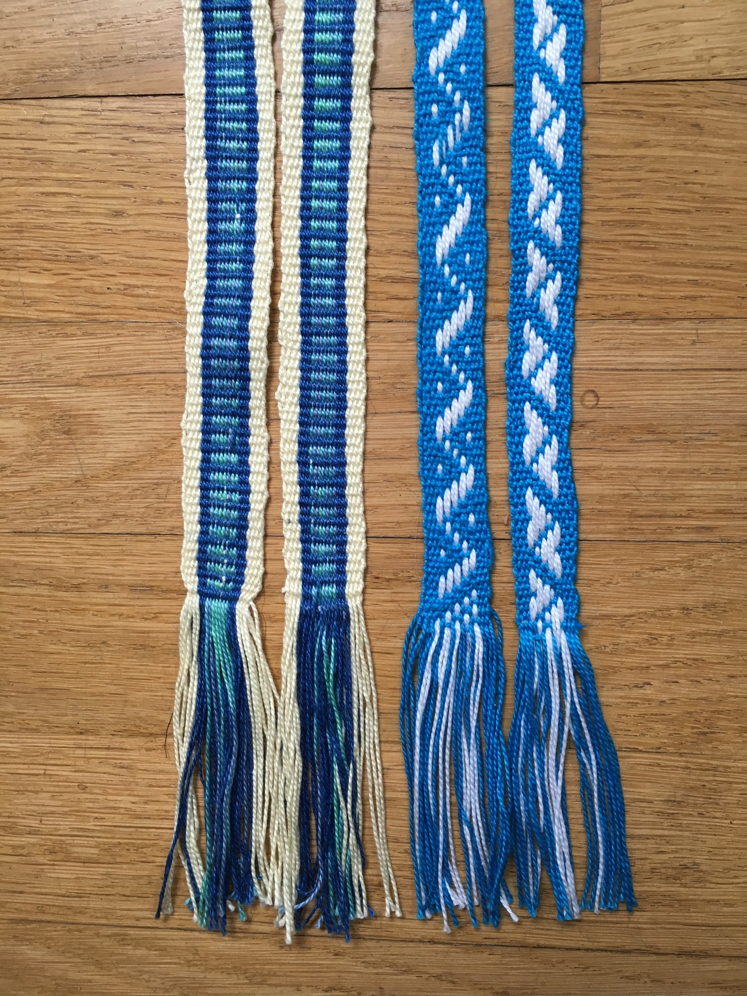 Weaving Blue-teal band and Blue Baltic.jpg