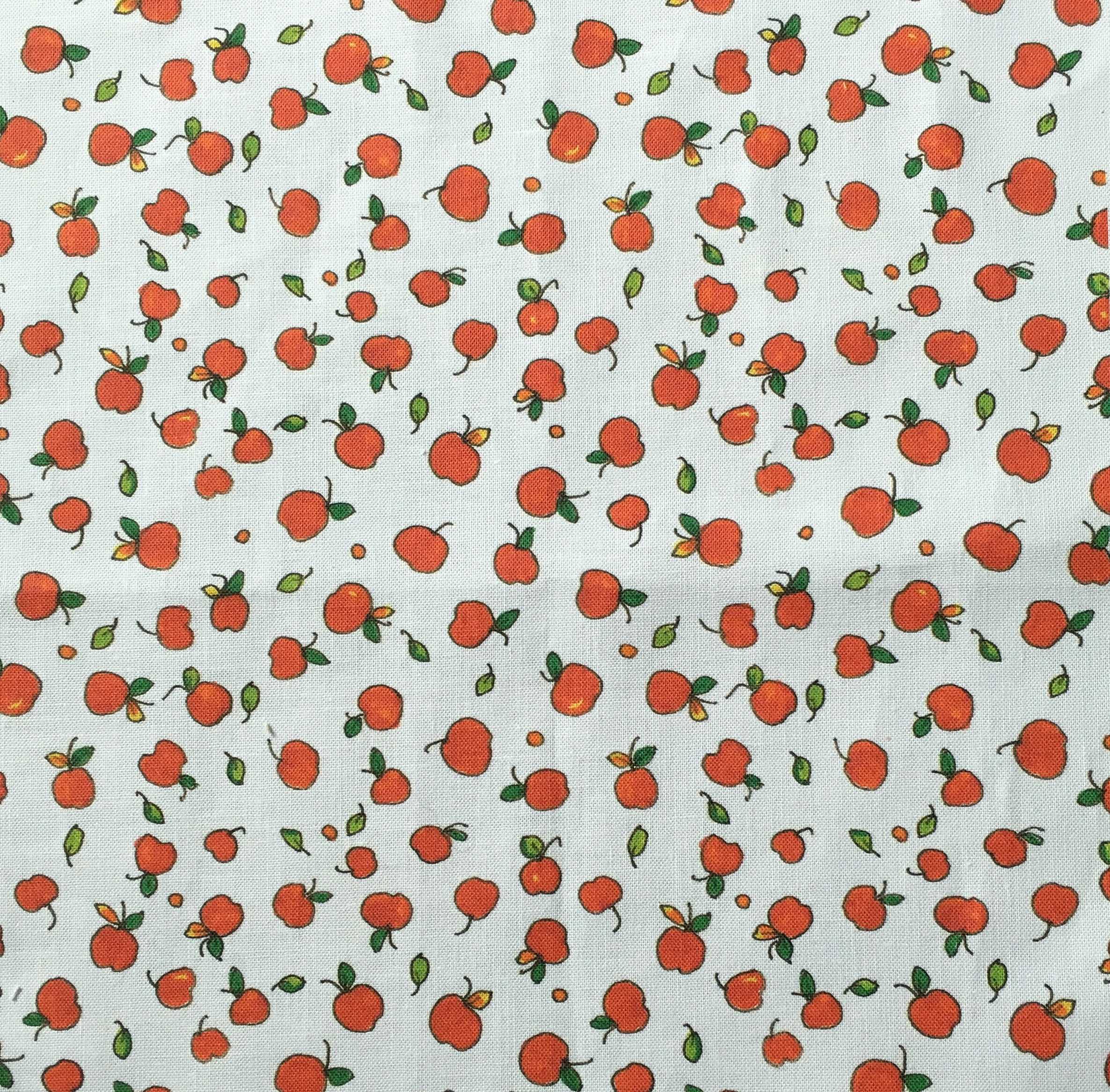Fabric Tossed Apples and Dots printed.jpg