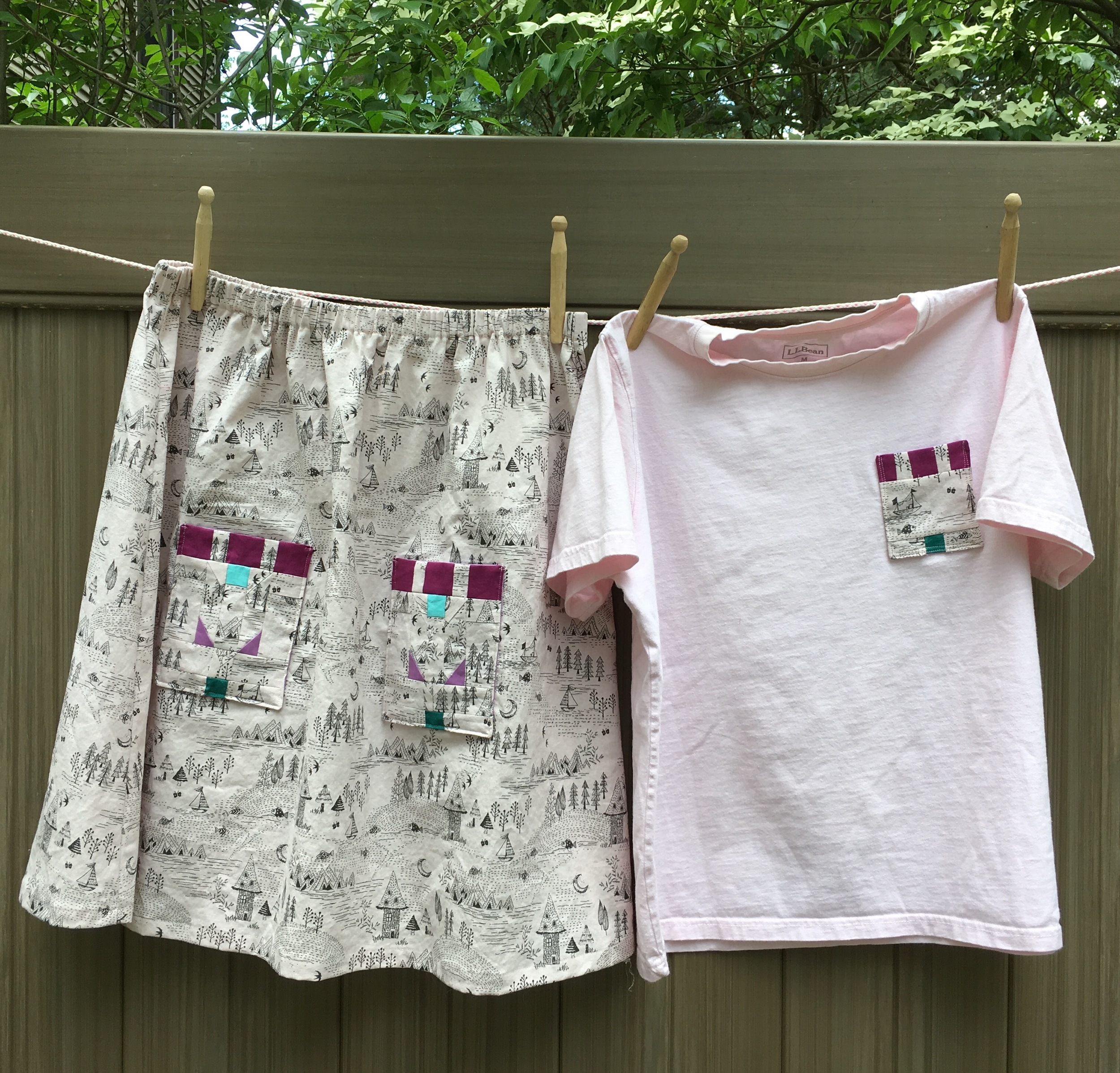 "My ""Prairie Skirt"" from blueprintsforsewing.com's pattern"