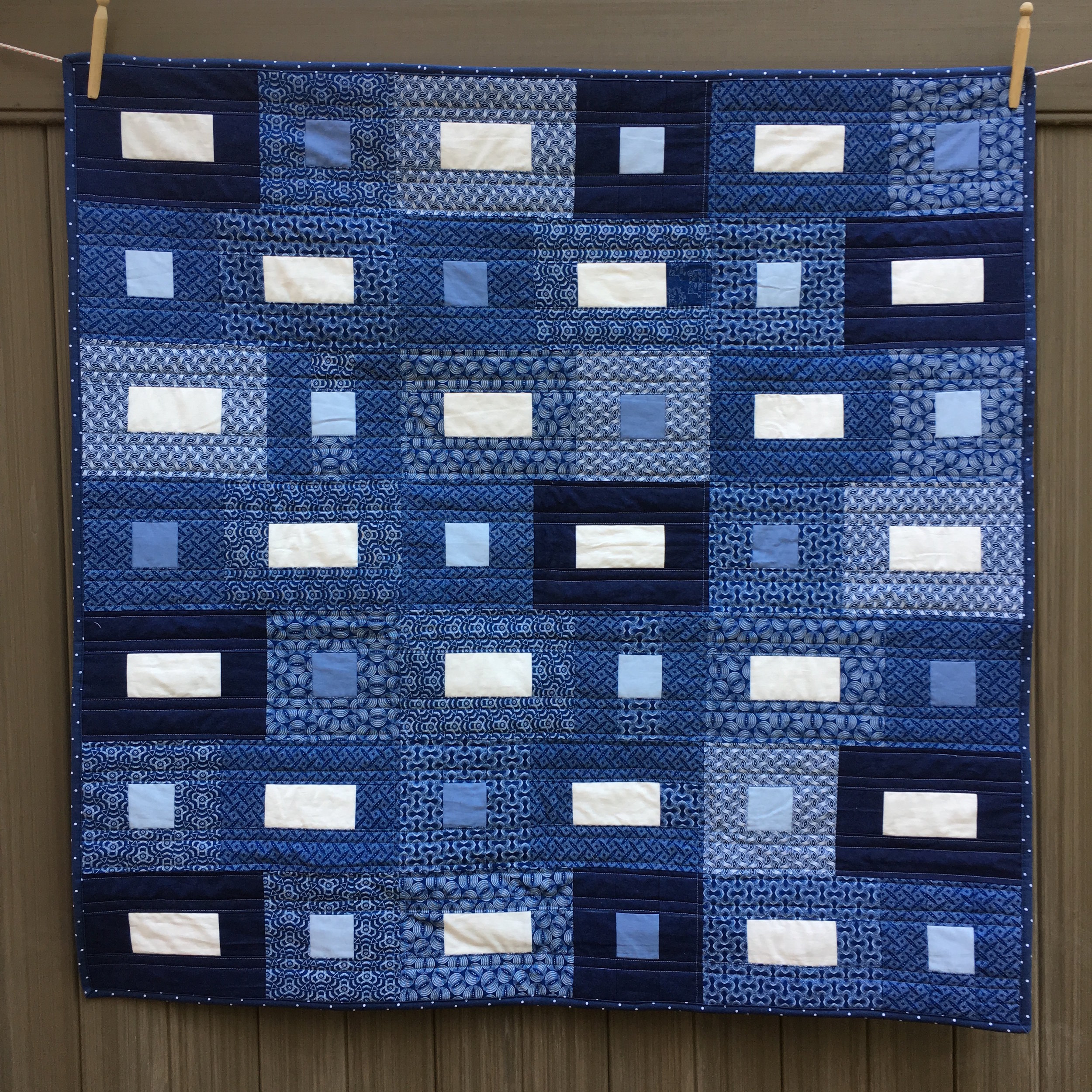Indigo Color Quilt