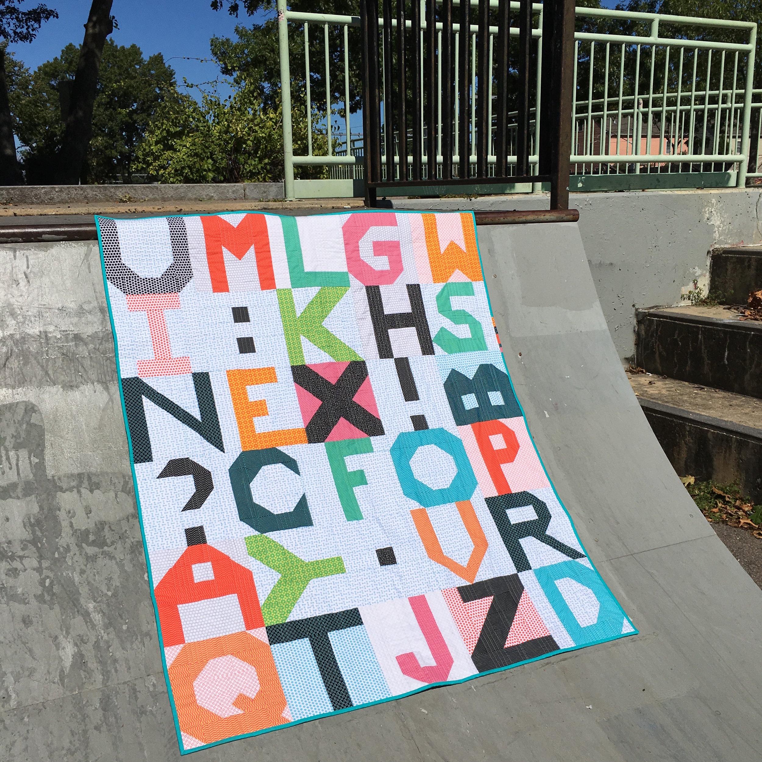 Quilt Random Letters steep skate ramp.jpg